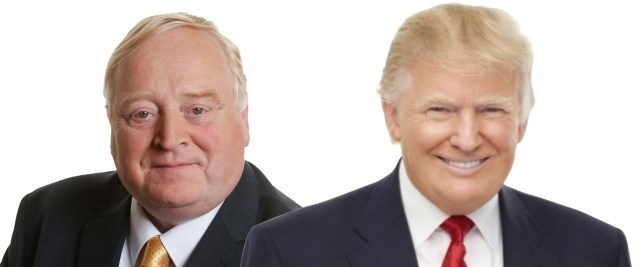 Eamon Scanlon and Donald Trump