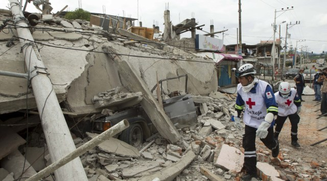 Ecuador Earthquake, April 2016