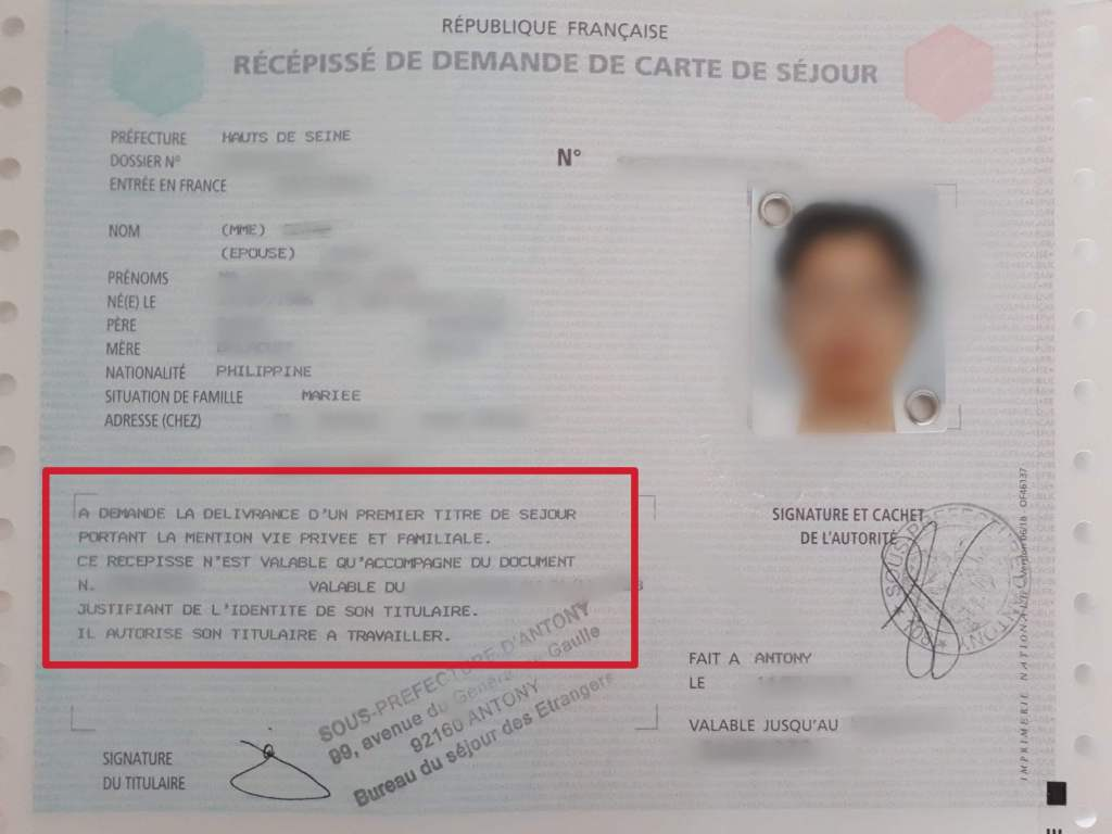 carte vie privée et familiale How To Apply For A Carte De Séjour Or French Residency Card   The