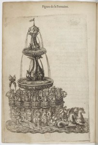 A bowed instrument on the Fountain in the Ballet comique de la Reine (Paris, 1581).