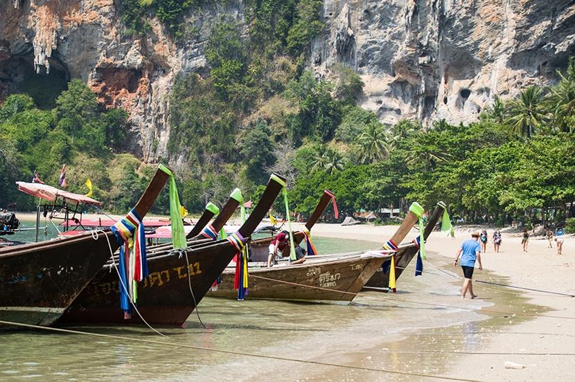bateau thailande tonsai beach