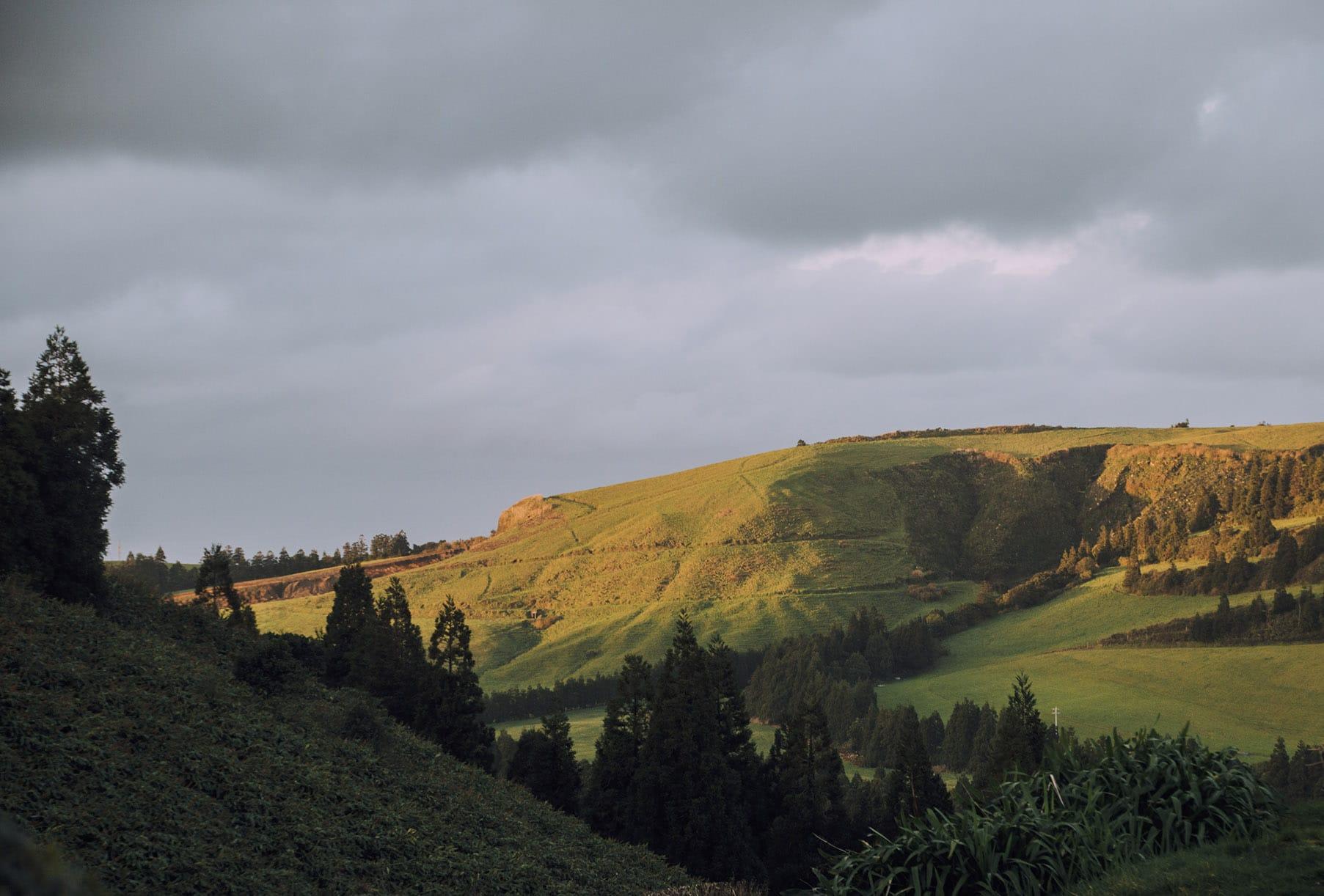 Açores paysage vallée