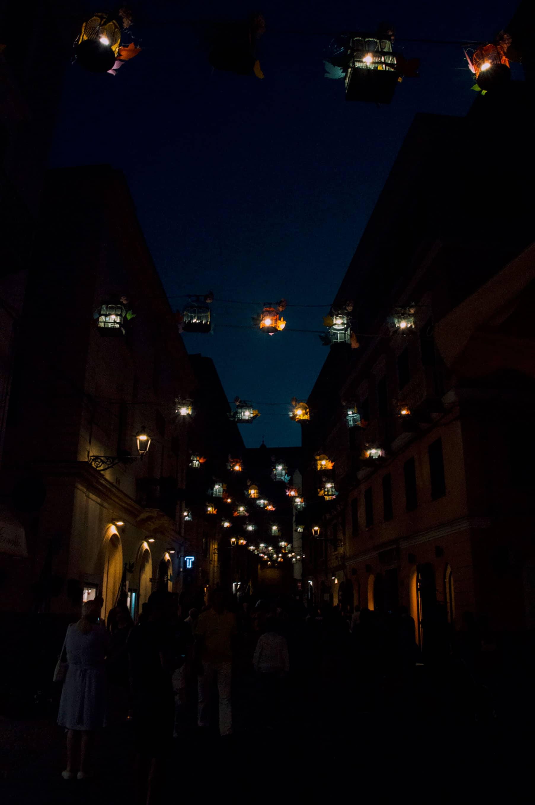 Alghero nuit sardaigne
