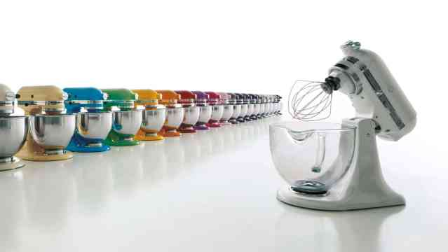 Panoplie de couleurs de robots Kitchenaid