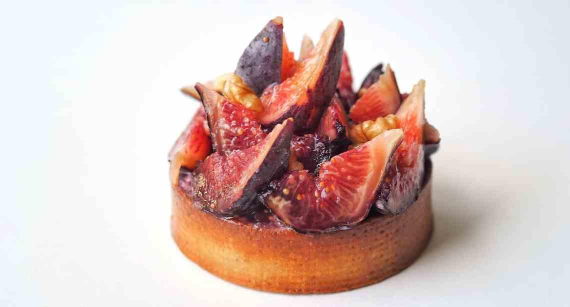 Tartelette figue et noix