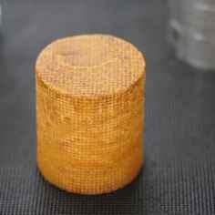 Chou cylindrique parfaitement cuit
