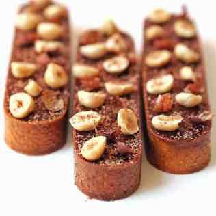 tarte choconuts vue de face