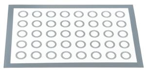 tapis de cuisson macarons