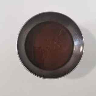 glaçage miroir chocolat