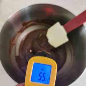 Tempérage chocolat noir au beurre de cacao Mycryo