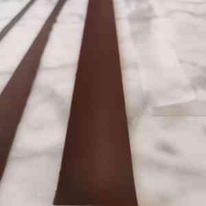 Cerclage chocolat tempéré