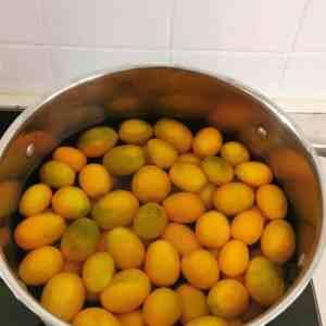 kumquats blanchis