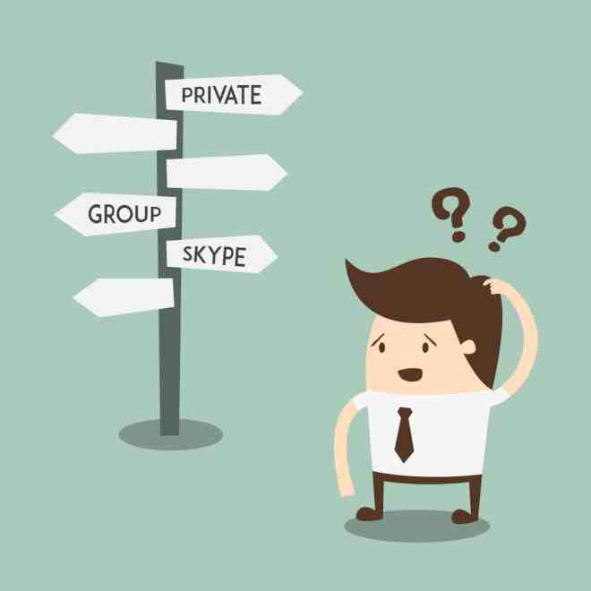 Private Group and Skype Lessons
