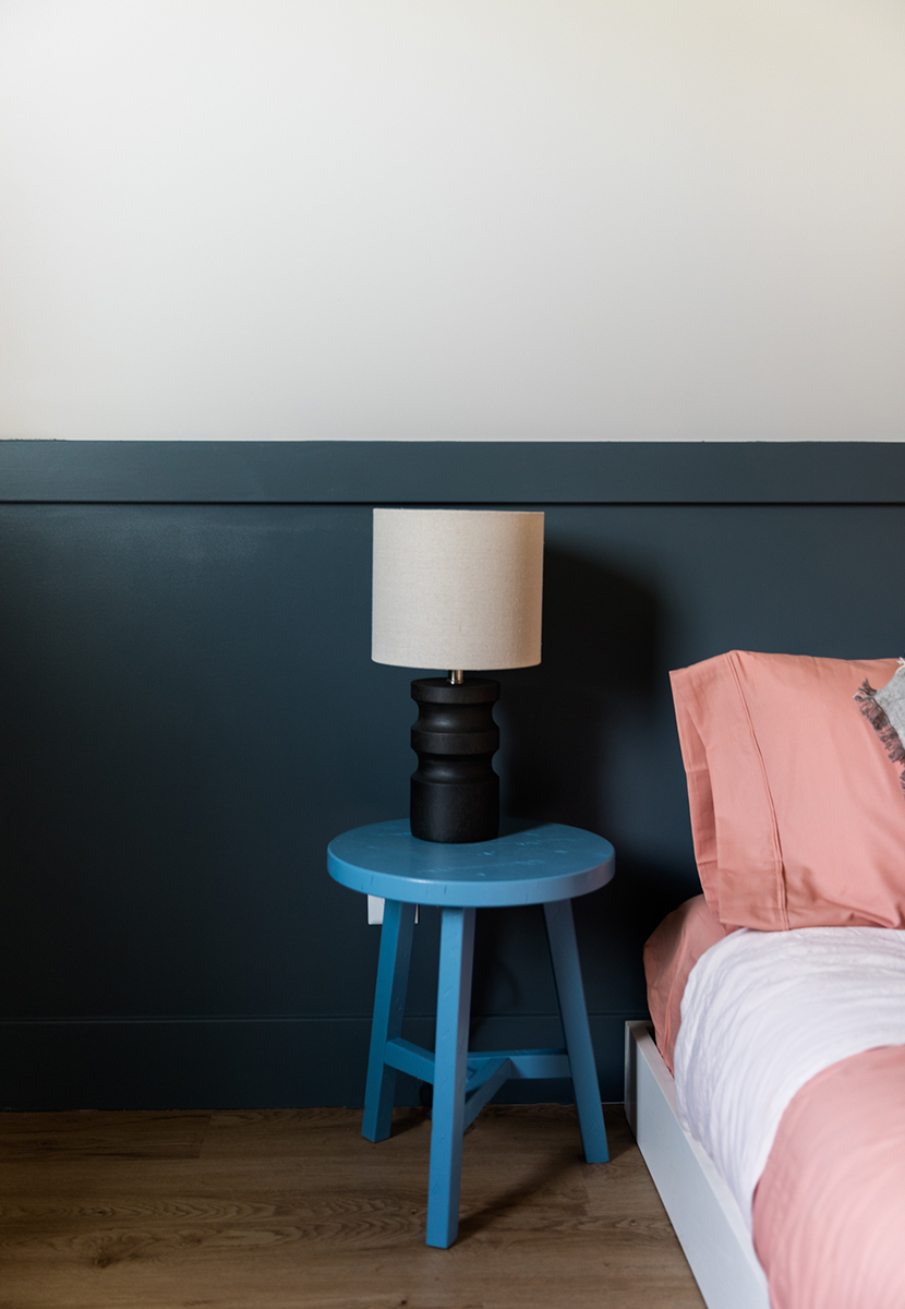 Creating a beautiful and stylish Basement Bedroom isn't easy. See how we did it with BEHR®