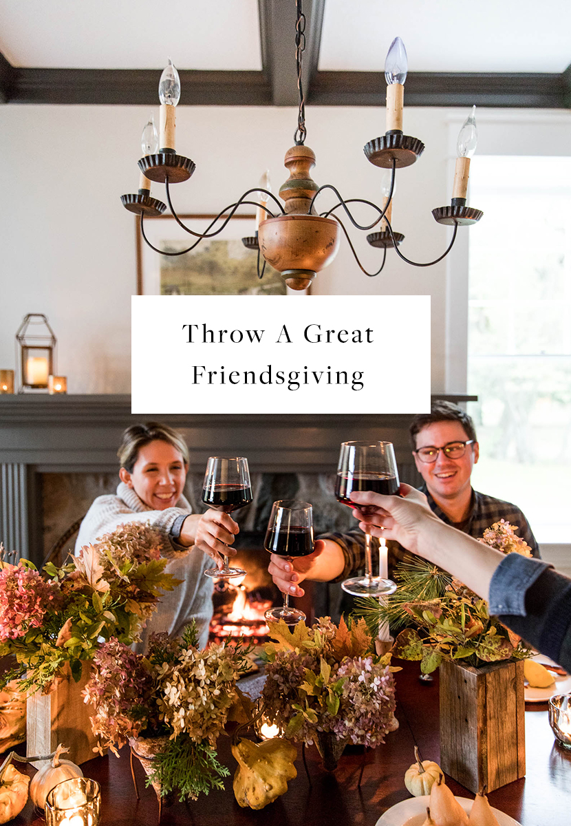 Throwing a Friendsgiving. Here is how to do it and have everyone pitch in.