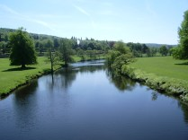 The River Derwent at Chatsworth PArk