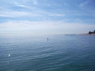 The ocean at Malibu