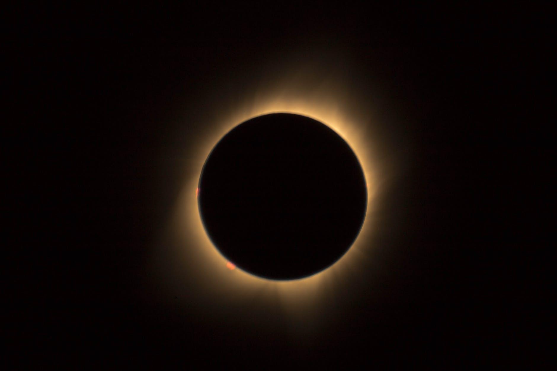 eclipse digital wallpaper