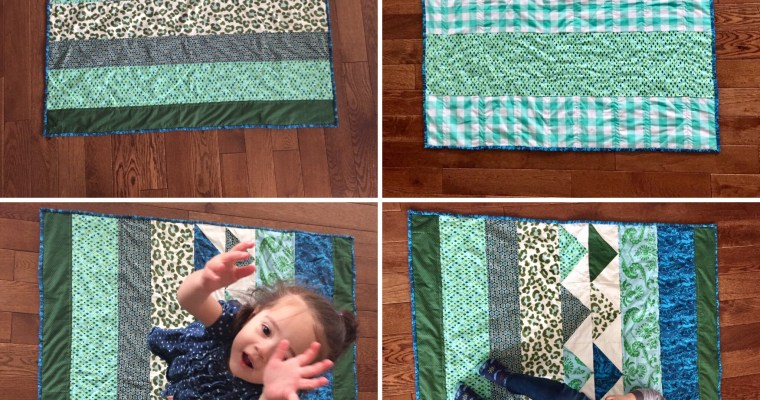 Modern, Stylish and Quick Baby Quilt