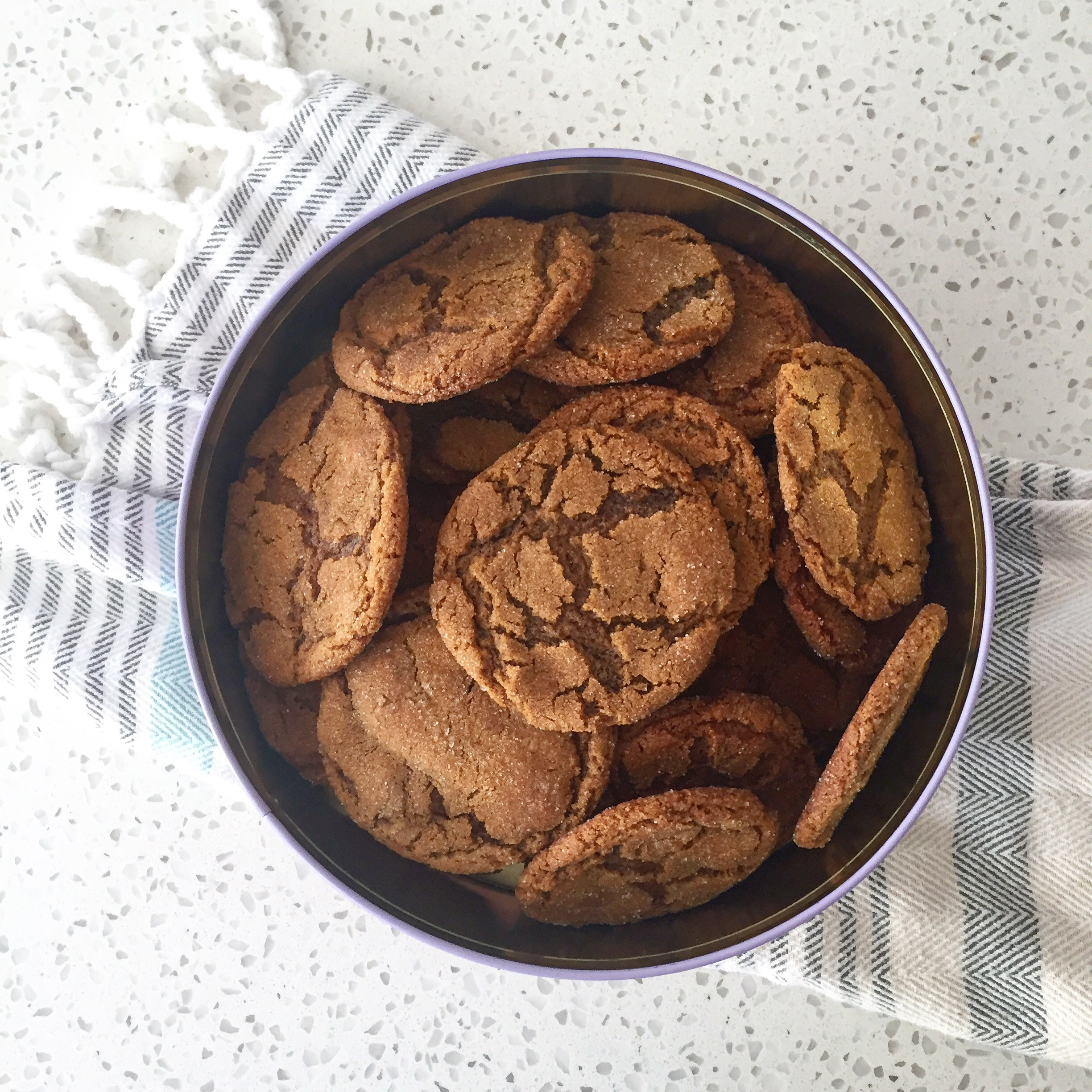 Famous Ginger Cookies
