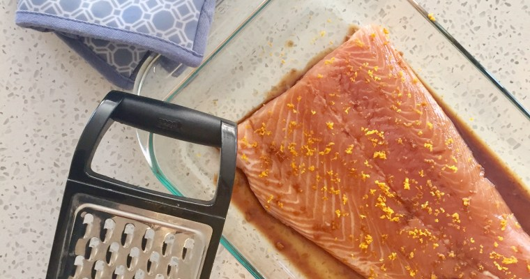 Soy and Citrus Salmon