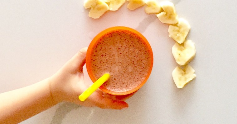 Kid Favourite Healthy Chocolate Smoothie