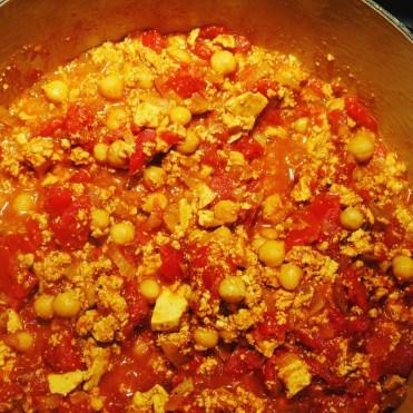 Simmer for 5 minutes on medium heat