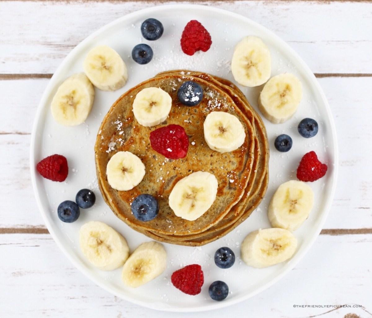 Chai Spice Pancakes (vegan)