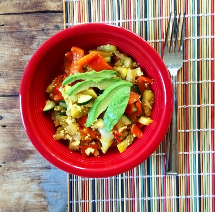 Veggie Tofu Scramble Recipe