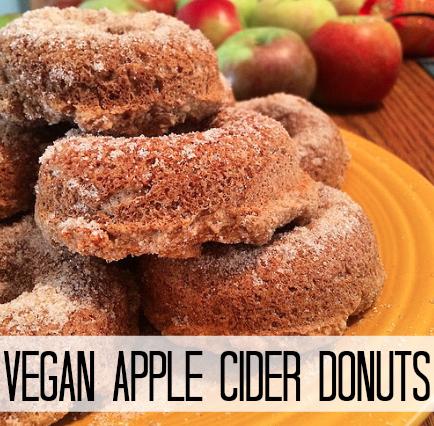 Vegan Apple Cider Donuts Recipe