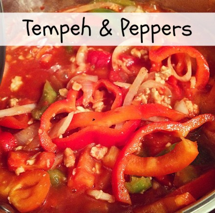 Vegan Tempeh and Peppers Recipe