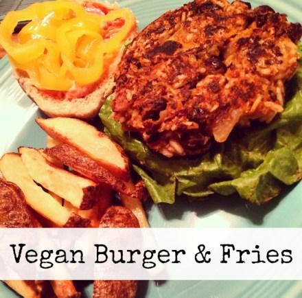 Vegan Burger Fries Recipe