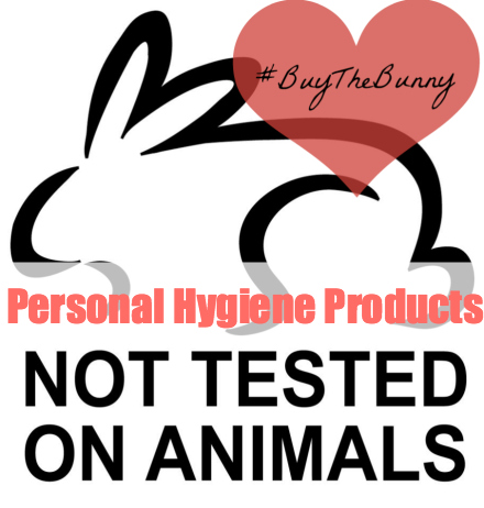 Personal Hygiene Products Not Tested on Animals