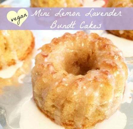 Lemon Lavender Bundt Cake