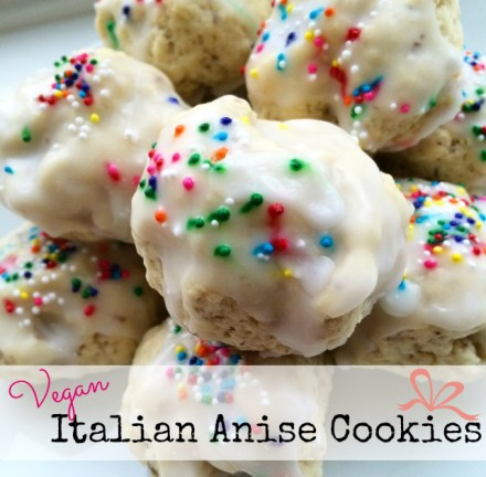 vegan italian anise cookie recipe - Italian Christmas Cookies Anise