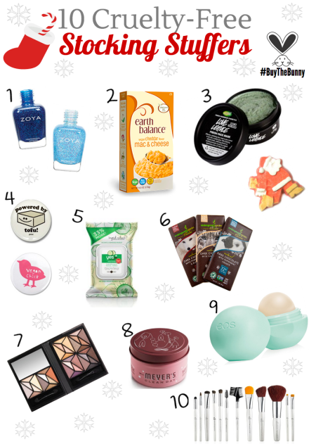 Cruelty-Free Stocking Stuffers