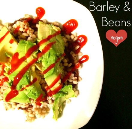 Barley and Beans Vegan