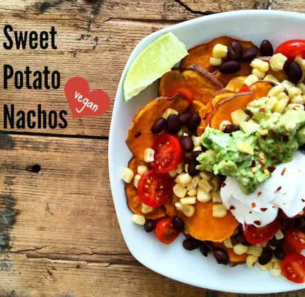 Vegan Sweet Potato Nachos