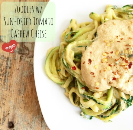 Vegan Zoodle Recipe