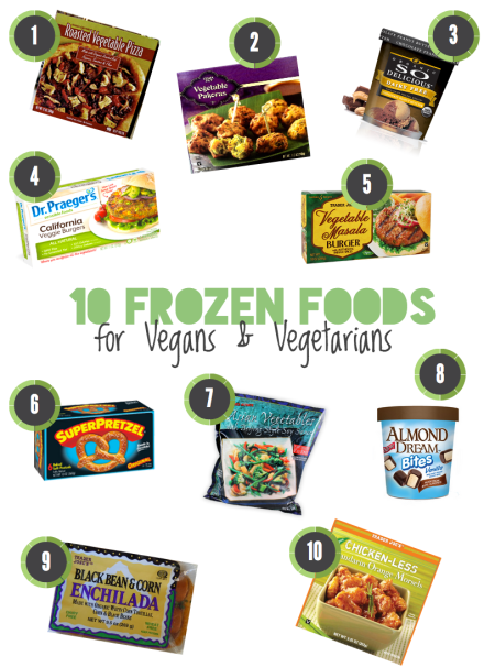 Vegan Frozen Foods