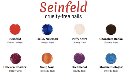 Seinfeld Nails - The Friendly Fig