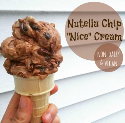 Vegan Nutella Ice Cream Recipe