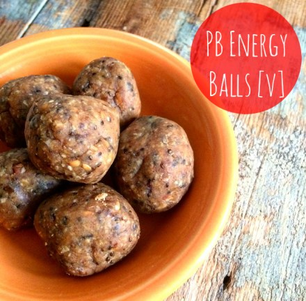 Peanut Butter Energy Bites Vegan Recipe
