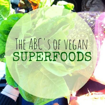 List Vegan Superfoods