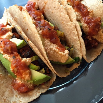 Chipotle Tempeh Tacos Vegan Recipe