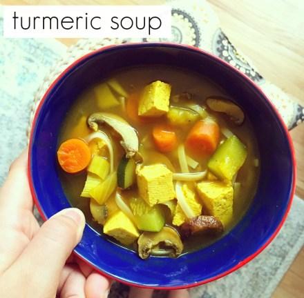 Vegan Turmeric Soup