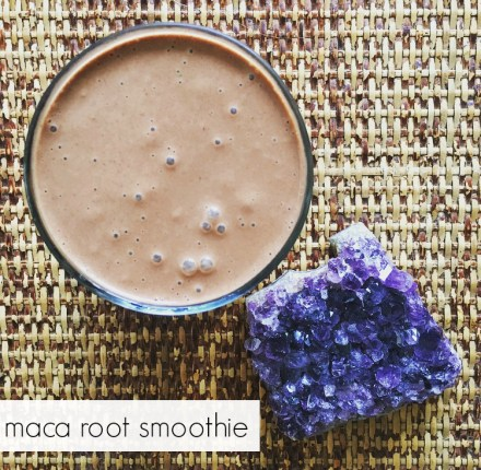 Maca Root Smoothie Recipe Benefits