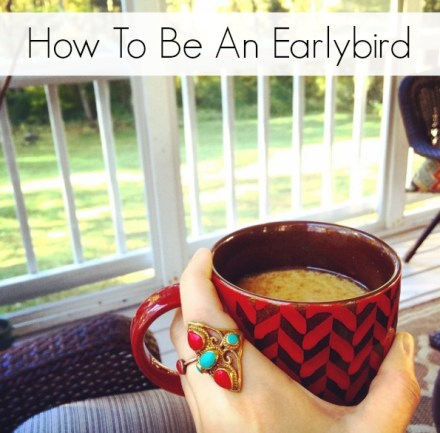 Tips for Waking Up Early