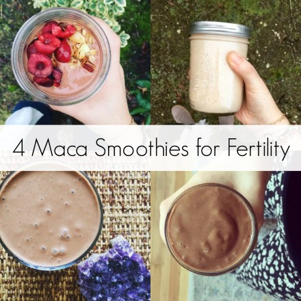 4 Maca Smoothies for Fertility