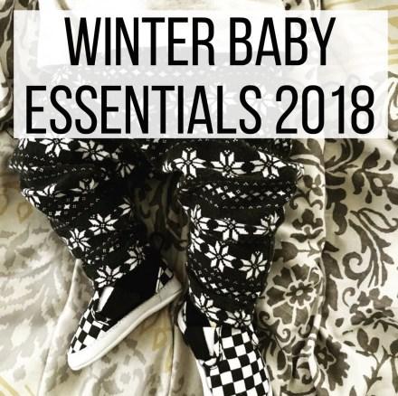 Winter Baby Essentials 2018
